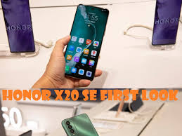 Honor X20 SE images leaked ahead of ...