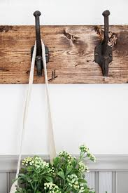 Strong Coat Rack DIY Rustic Towel Rack Maison De Pax 85