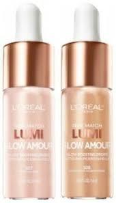 loreal paris true match lumi glow amour boosting drops