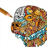 Get Dog Coloring Pages Coloring Book For Adults Microsoft Store