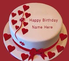 Happy Birthday Cake For My Girlfriend Birthday Cake With Name Edit