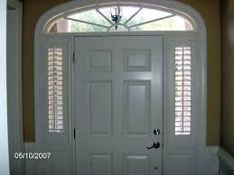 black front door stained glass with sidelights interior double entry sidelight curtains inch window treatments curtain