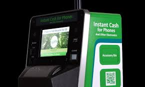 Vending Machines That Buy Old Cell Phones Gorgeous Intelligent ATM Machine' Where You Can Cash In Your Old Mobile If