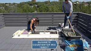step 10 mix the concrete