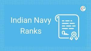 Navy Rank Chart Indian Navy Ranks Insignia Badges Of Indian Navy Ranks