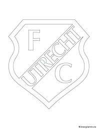 Voetbalclub Nederland Logo Kleurplaten Kleurplateneu
