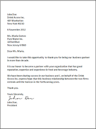 Us Business Letter Format Business Letter Format Business