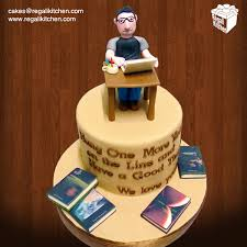 Book Author Birthday Cake