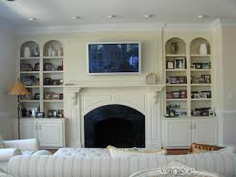 Fireplace Built Ins Nice Fireplace With Built Ins On Amys Casablanca Fireplace Built