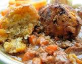 a winter s walk beef and carrot stew with herb crusted dumplings