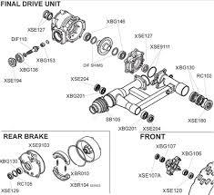 honda trx250ex parts diagram honda trx250ex