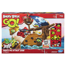Inspired by Savannah: Last Minute Gift Idea -- ANGRY BIRDS GO! JENGA PIRATE  PIG ATTACK GAME! -- Review and #Giveaway