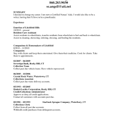 Sample Nanny Resume Caregiverjobdescriptionforresume Resume Sle For A Caregiver 74