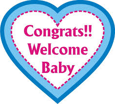 Baby Congrats Note Congrats Welcome Baby Photo Prop Little Princess New Arrival Party