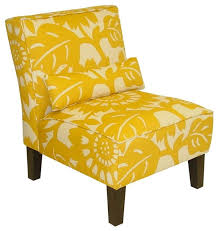 gerber accent chair in sunflower