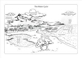 New Water Cycle Coloring Page Or Free Printable Water Coloring ...