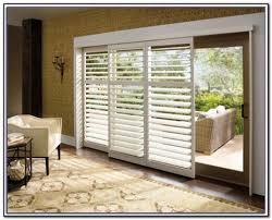 sliding glass door blinds patios home decorating ideas