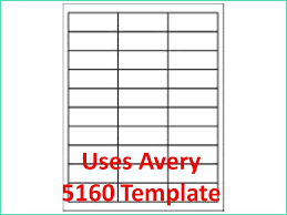 5160 Labels In Word 34 Avery 5160 Label Template Word All Templates