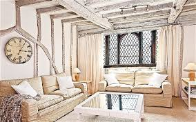 Built in the 1660s, The Tudor House was saved and impeccably restored in  the Sixties