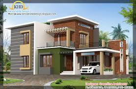 contemporary home elevation 1915 sq ft home appliance