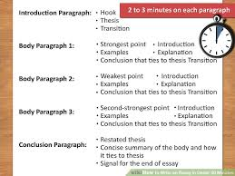 thesis examples for essays thesis for compare contrast essay  the best way to write an essay in under minutes wikihow image titled write an essay