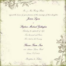 Sample Wedding Invite Vertabox Com