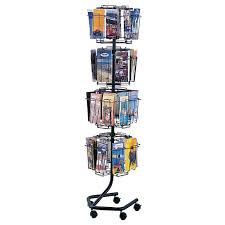 Flyer Display Stands Rotating Brochure Display Rack from Safco Office Zone 42
