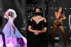Records in 2014 and released her eponymous debut album in 2017. Dua Lipa Snl Fashion Looks Couture Valentino Vintage Alaia Wwd