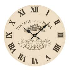 Country Kitchen Wall Clocks Kitchens Decor Country Kitchen Wall Clock Country Style Clock
