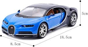 The 3d hood ornament and the flat emblem with the b at the center. Amazon Com Chef Vehicle Playsets Car Model Collection 1 24 Bugatti Chiron Classic Toy Car Decoration Color Black Blue Toys Games