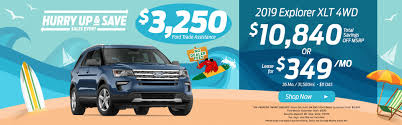 10 840 total savings off msrp on the 2019 ford explorer