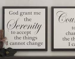 sweet looking serenity prayer wall decor small home remodel ideas enjoyable art etsy god grant me on large serenity prayer wall art with serenity prayer wall decor www grisly fo