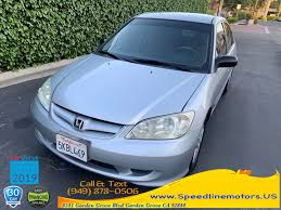 2004 honda civic 4dr sdn vp auto w side airbags available in