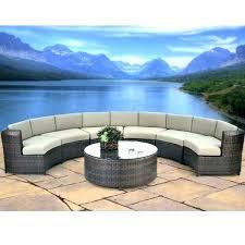 patio armor deluxe round table chair set wooden garden fur round