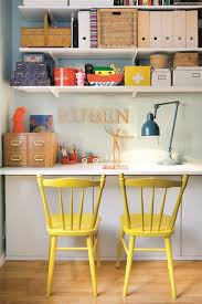 colorful home office. colorful home office