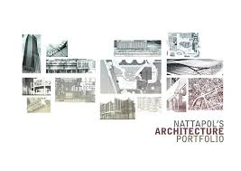 Astonishing Architectural Design Portfolio On Architecture With