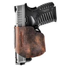Versacarry Zerobulk Pro Holster Compact 9mm Rh Distressed Brown