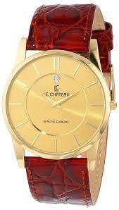 men gold watches le chateau men s 7069mg g classica diamond gold watches for men le chateau
