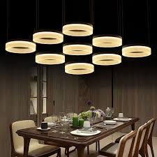 office pendant light. Home Office Led Ring Pendant Lights Post Modern Large Commercial Lighting Living Room Reading Work Light 110-240V Lamparas H