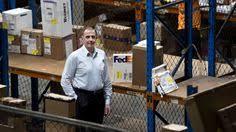 Fedex Sort Observation Mallard Duck Walking By A Fedex Express Parcel Post Box