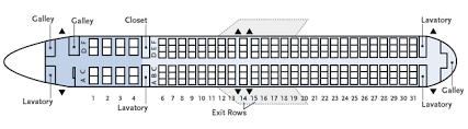 Boeing 737 900 Seating Chart Business Flight Alaska Airlines Boeing 737 900 739 Seat Plan