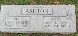 Ezra J. Ashton (1848-1926) - Find A Grave Memorial