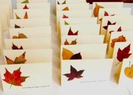 home made thanksgiving cards thanksgiving place card ideas hello nutritarian