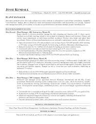 Production Manager Resume | Cvfree.pro