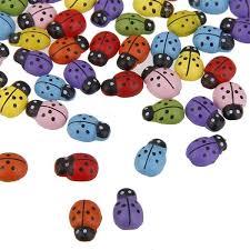 home decor ladybug sticker multi color
