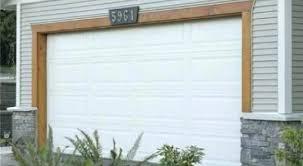 trim around garage door garage door trim ideas stain wood trim around garage door house exterior