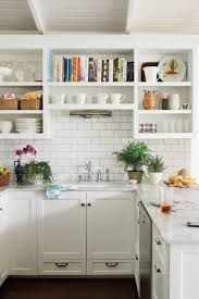 Small white kitchens Remodeled Small Modern White Kitchen Southern Living Alltime Favorite White Kitchens Southern Living