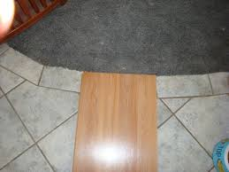 can you lay allure flooring over ceramic tile