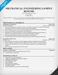 Mechanical Engineer Resume Mwb Online Co
