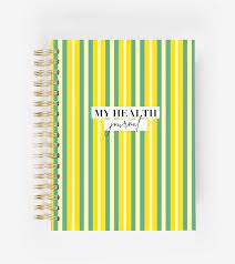 My Health Journal - Stripes – My Health Journals